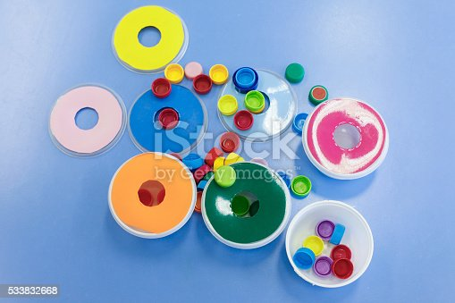 544351868 istock photo Homemade, do-it-yourself educational toys 533832668