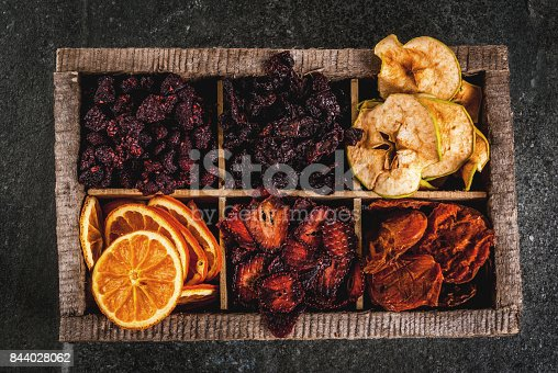 istock Homemade dried berries and fruits 844028062