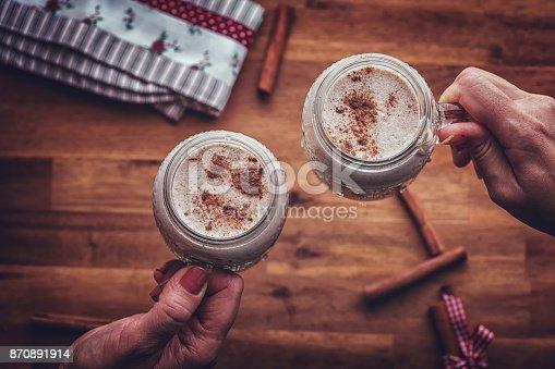 Homemade Eggnog for Christmas