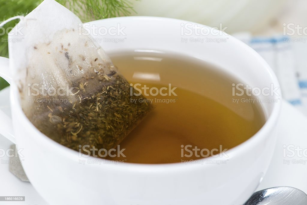 Homemade Fennel Tea royalty-free stock photo