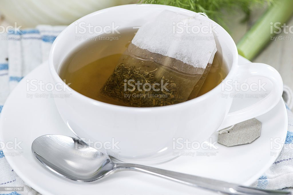 Homemade Fennel Tea royalty-free stock photo