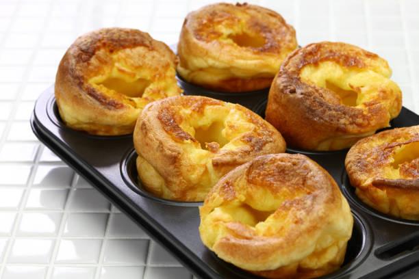 homemade freshly Yorkshire puddings