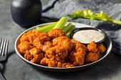 istock Homemade Fried Boneless Buffalo Chicken Wings 1329946968