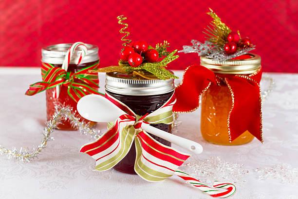 Homemade Gifts of Jam stock photo