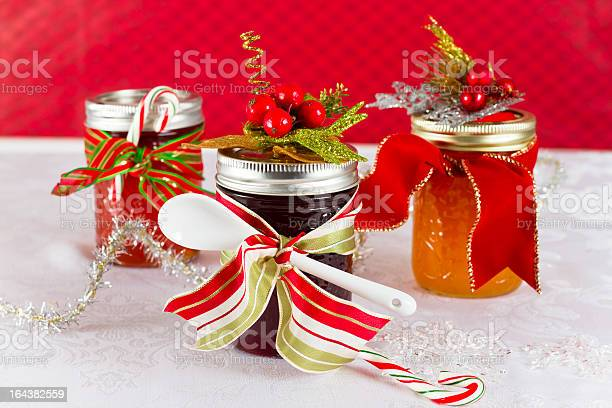 Homemade Gifts Of Jam Stock Photo - Download Image Now