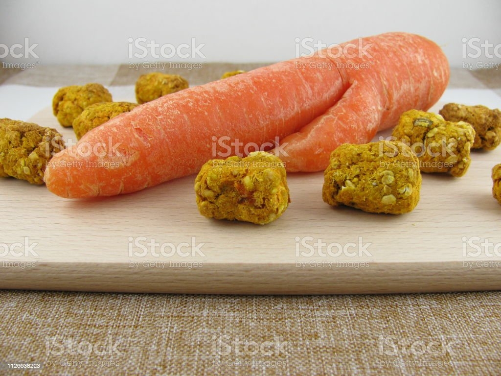 Homemade Horse Treats With Carrot And Rolled Oats Stock Photo Download Image Now Istock