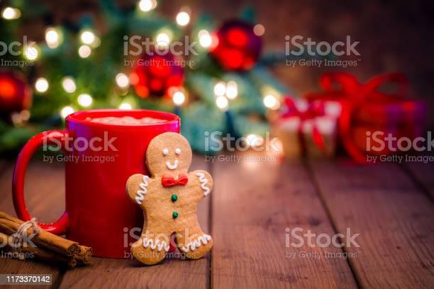 Homemade hot chocolate mug and gingerbread cookie on christmas table picture id1173370142?b=1&k=6&m=1173370142&s=612x612&h=drnwjyhx50gqf6eqbctmhbt2254yj bwpygtqpgbk6s=