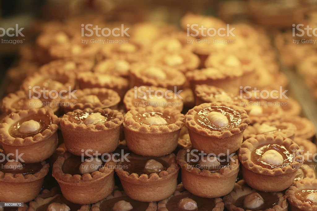 Homemade Italian Cookies in Rome royalty-free stock photo