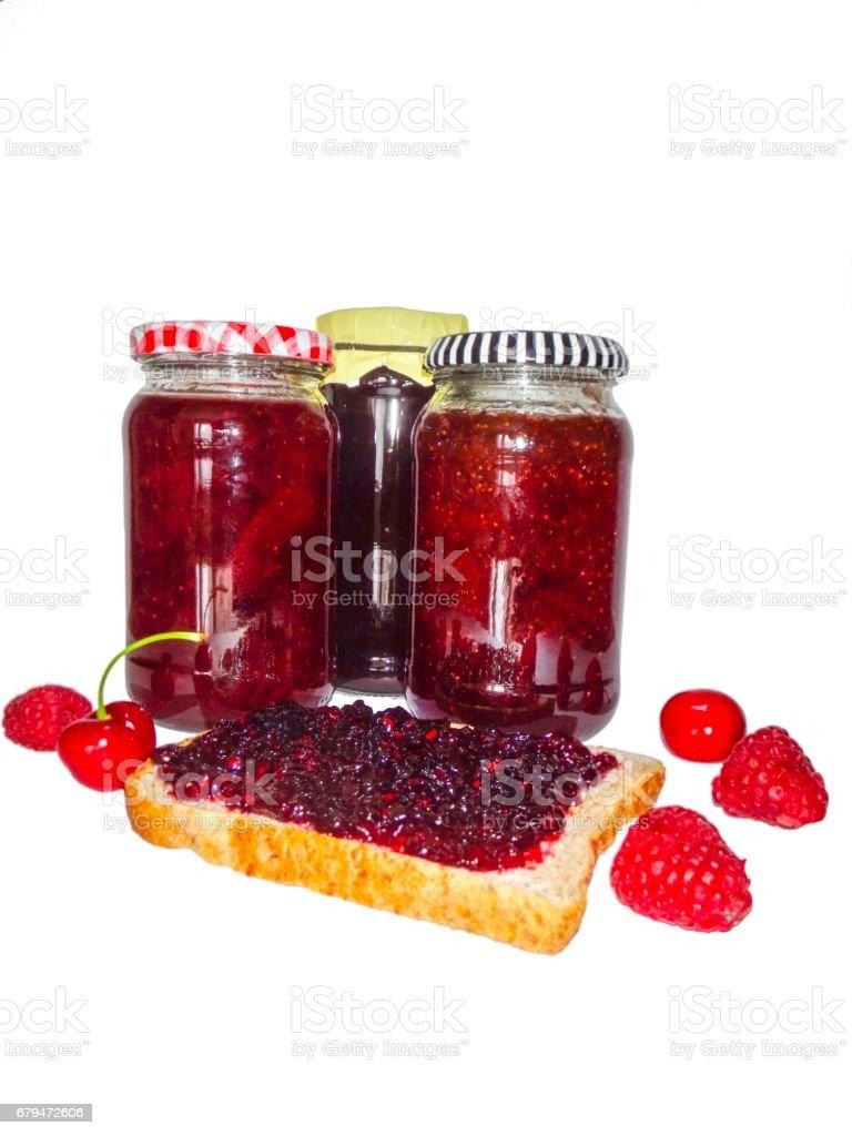 自製果醬 免版稅 stock photo