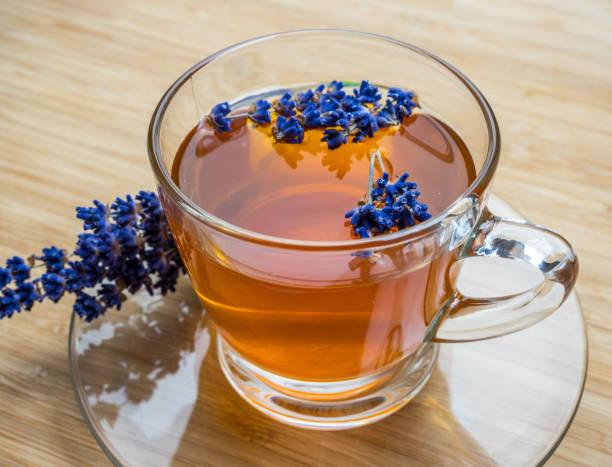 hausgemachte Lavendel Tee zum Entspannen