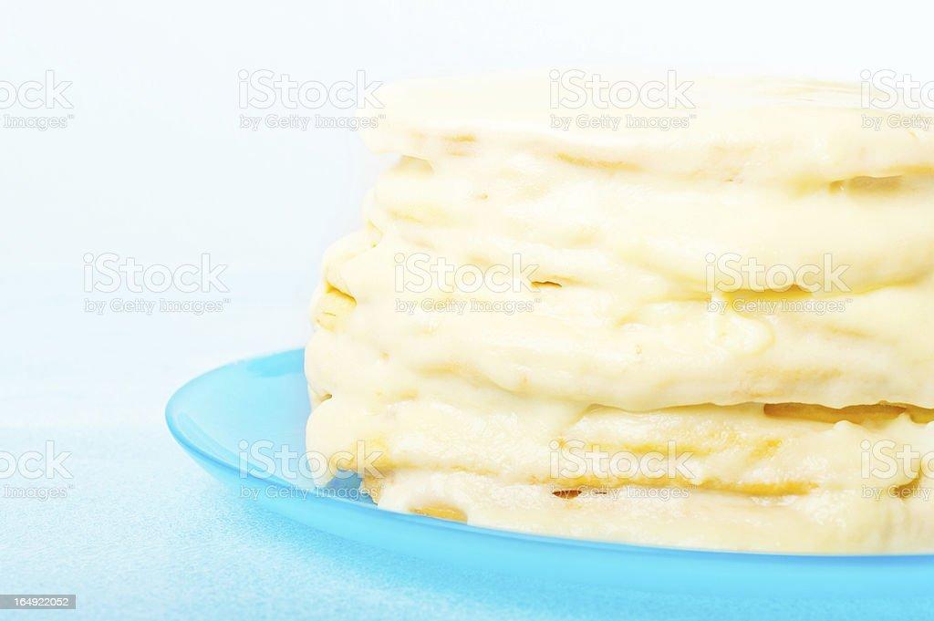 homemade layer cake royalty-free stock photo