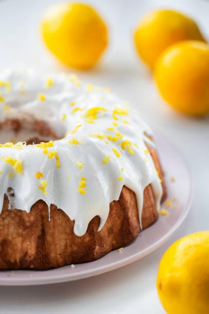 Bolo de limão caseiro - foto de acervo
