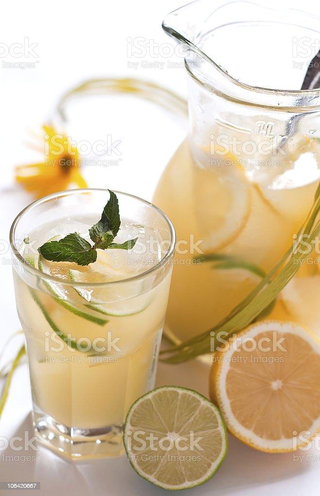 Homemade lemonade royalty-free stock photo