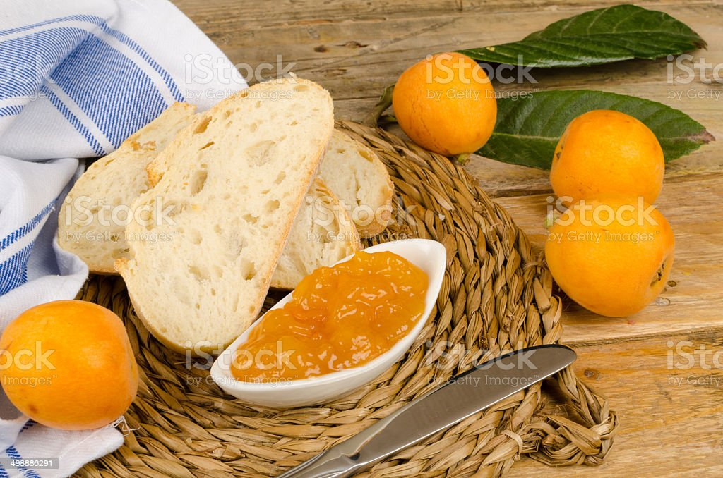 Homemade marmalade stock photo