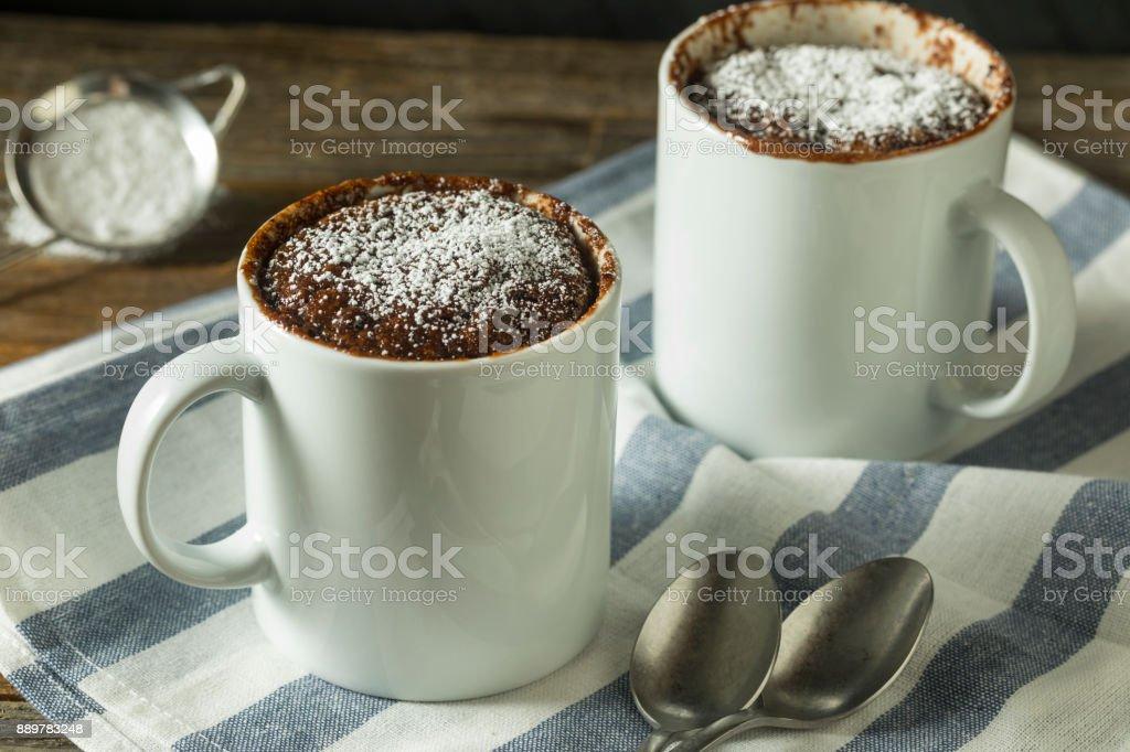 Homemade Microwave Chocolate Mug Brownies