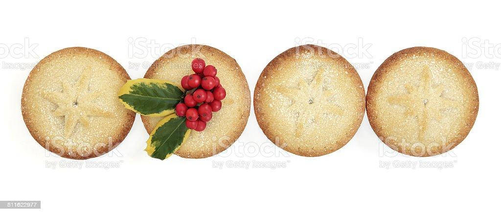 Homemade Mince Pies stock photo