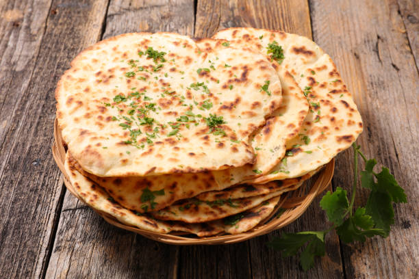 homemade naan bread homemade naan bread naan bread stock pictures, royalty-free photos & images