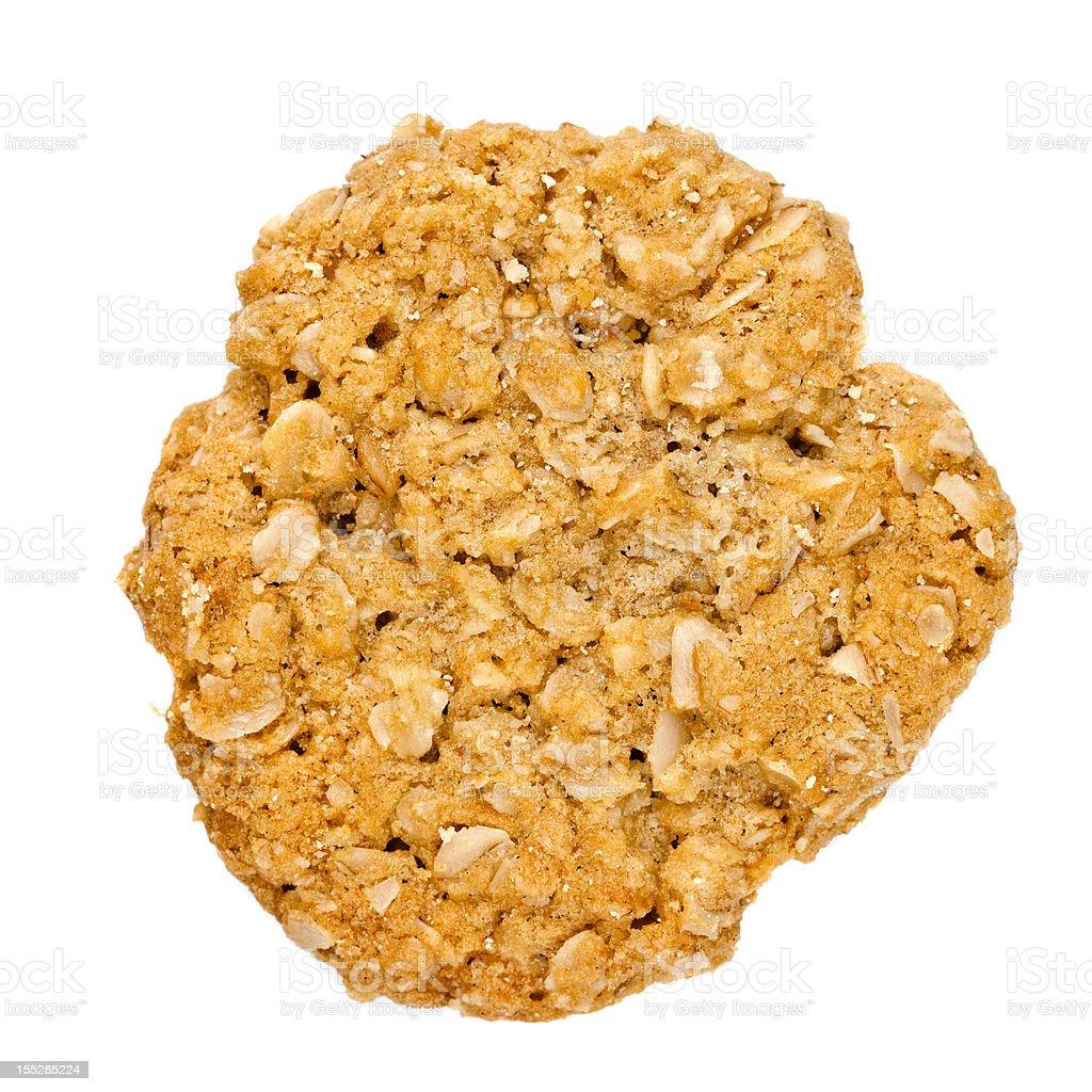Homemade Oatmeal Cookies stock photo