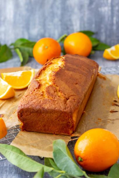Homemade Orange Sweet Bread stock photo