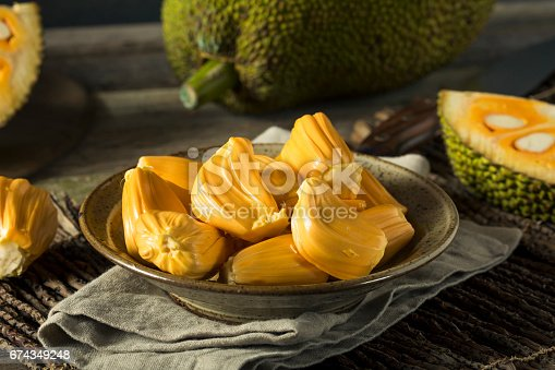 Homemade Organic Fresh Jackfruit Ready to Eat