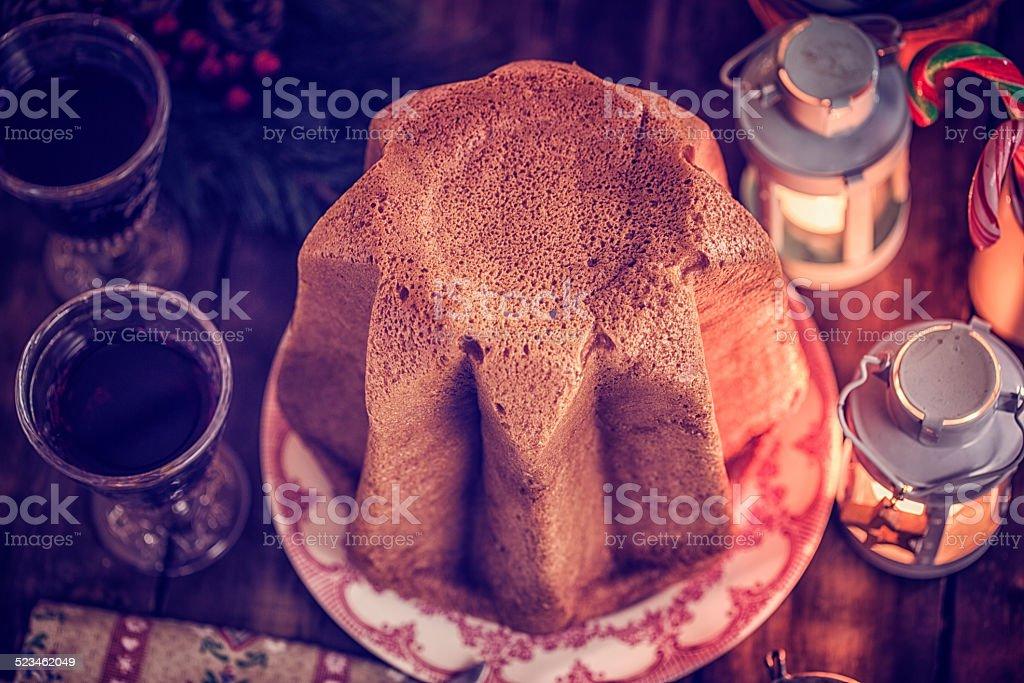 Cucina Italiana Dolci Di Natale.In Casa Pandoro Dolce Di Natale Con Zucchero A Velo