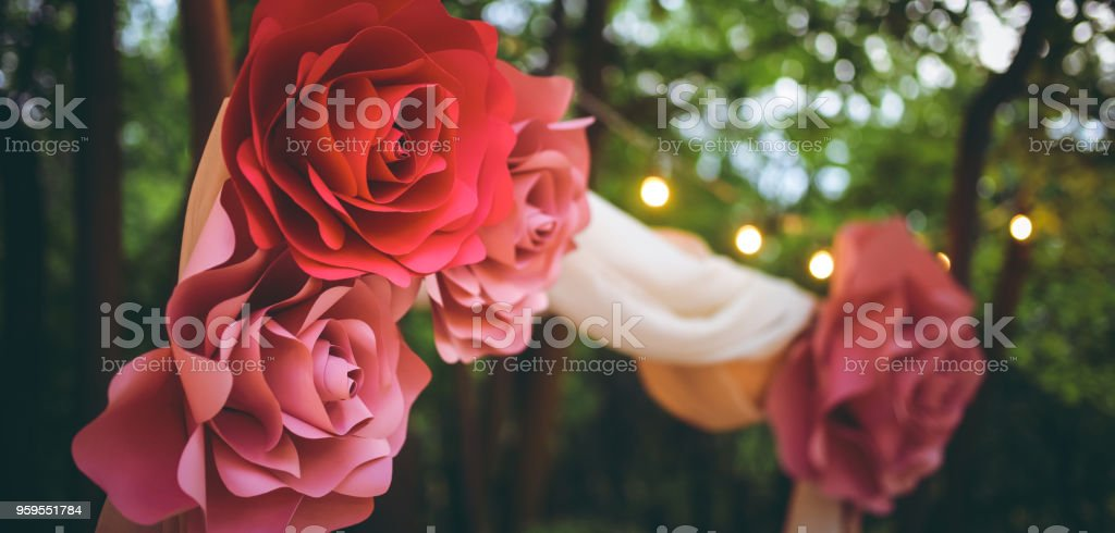 Homemade paper flowers stock photo more pictures of art istock homemade paper flowers royalty free stock photo mightylinksfo