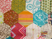 homemade patchwork quilt design