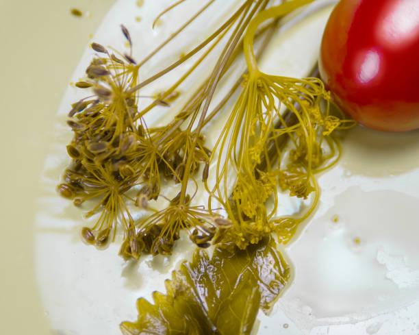 Tomates caseiros em conserva - foto de acervo