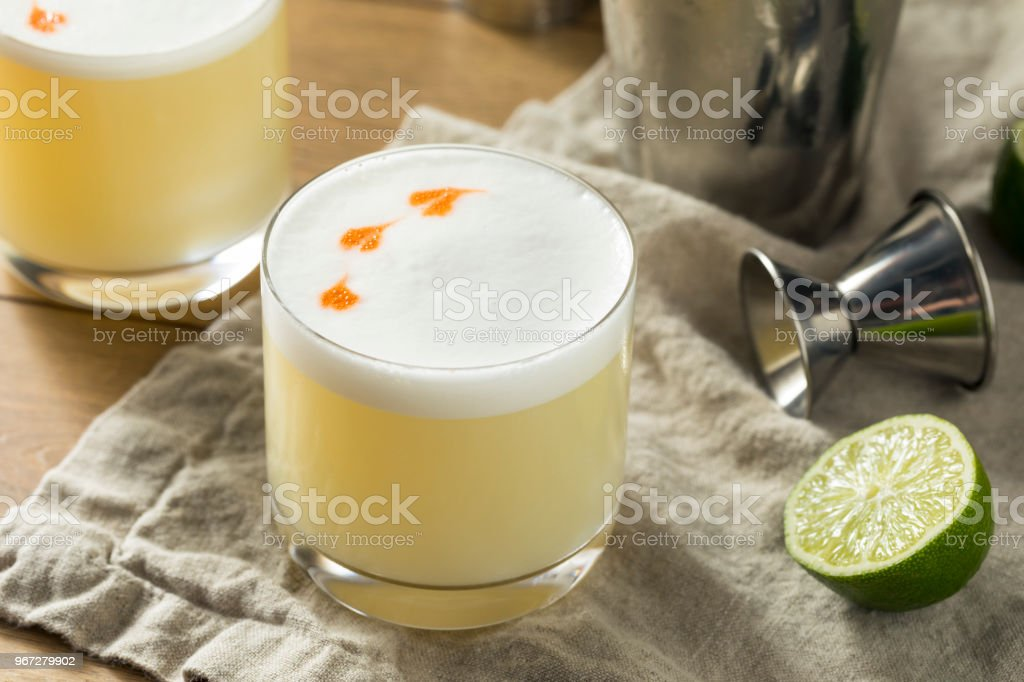 Hausgemachte Pisco Sour Cocktail – Foto