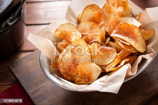 Fresh Homemade Potato Chips