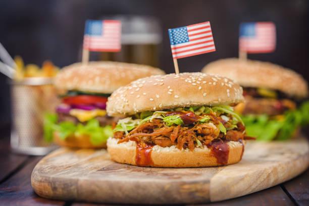 Hausgemachte Pork Sandwich – Foto