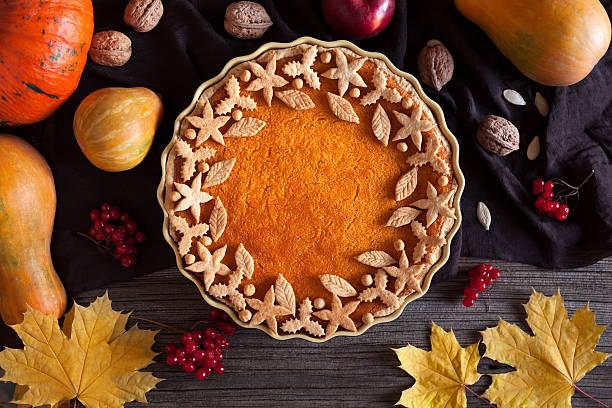 torta de abóbora orgânica caseira torta de sobremesa doce food com vários - torta salgada - fotografias e filmes do acervo