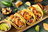 Homemade Spicy Shrimp Tacos
