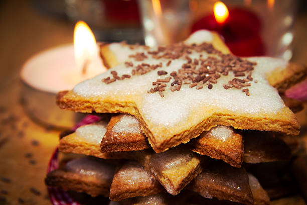 Homemade sweet food stock photo