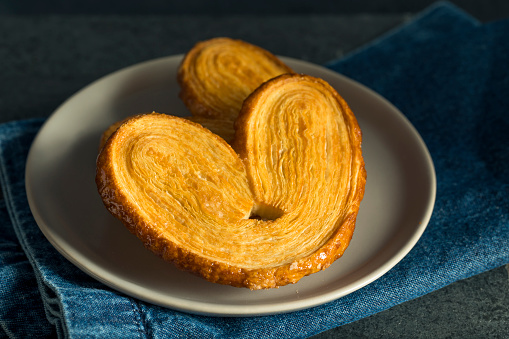 Homemade Sweet Palmier Cookies