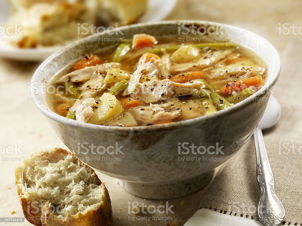 Hausgemachte türkische Suppe – Foto