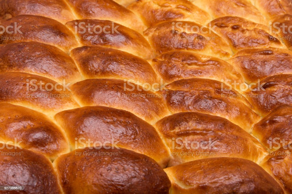 Homemade turnovers with filling are prepared  Latin American style. Concept of wheat spikes home brewing close-up as a background - Royalty-free Appetizer Stock Photo