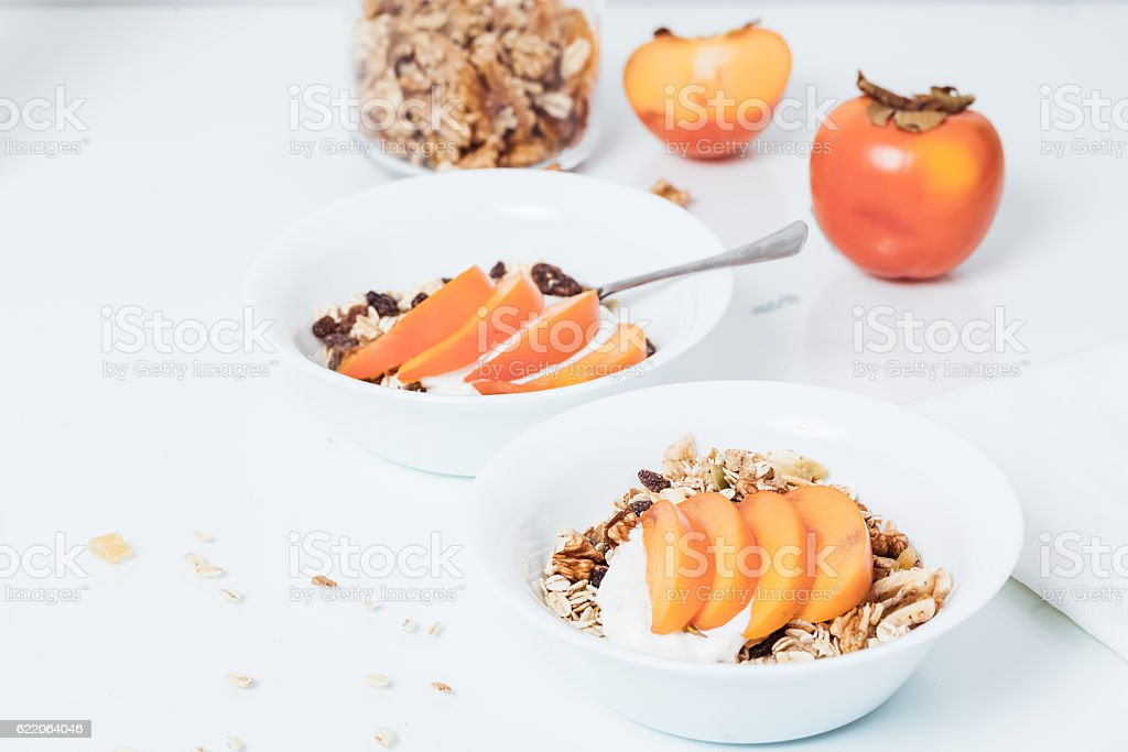 Homemade vegan granola cereal with soy yogurt walnuts fuji app stock homemade vegan granola cereal with soy yogurt walnuts fuji app royalty free stock ccuart Image collections