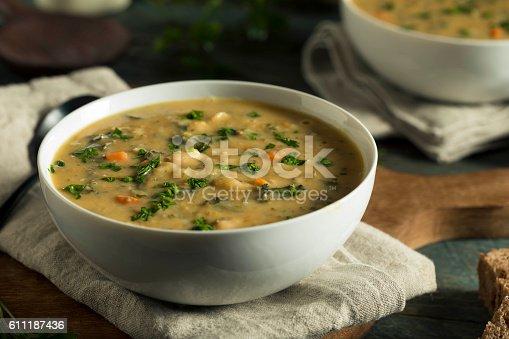 istock Homemade White Bean Soup 611187436