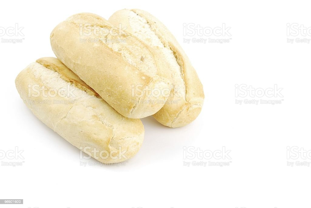 Homemade white bread called baguette royalty-free stock photo