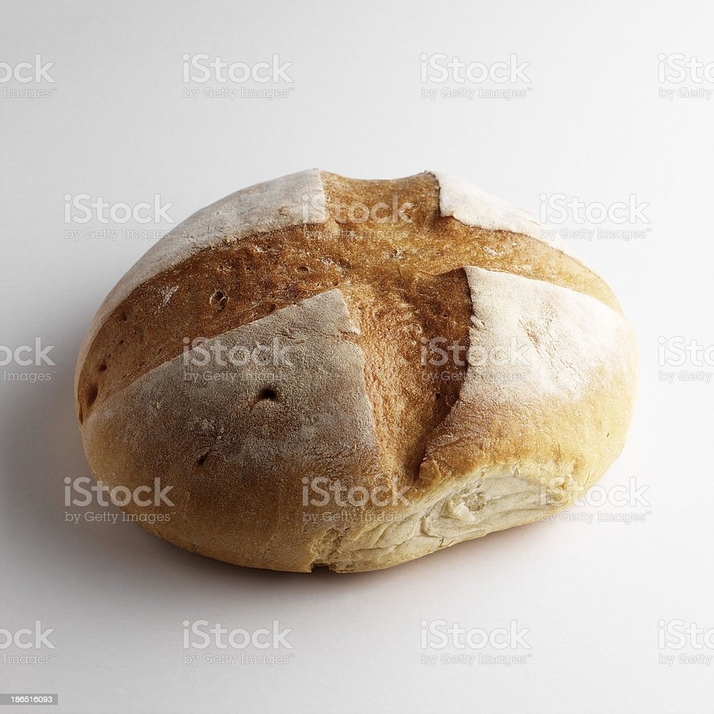 Homemade whole bread royalty-free stock photo