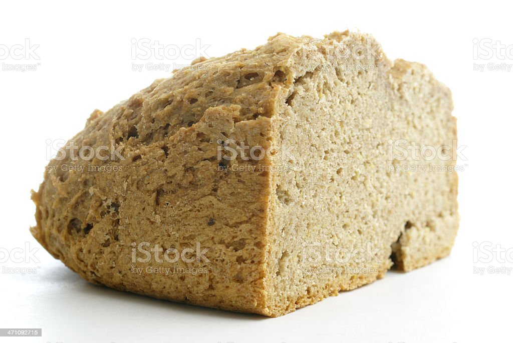 home-made whole wheat bread royalty-free stock photo