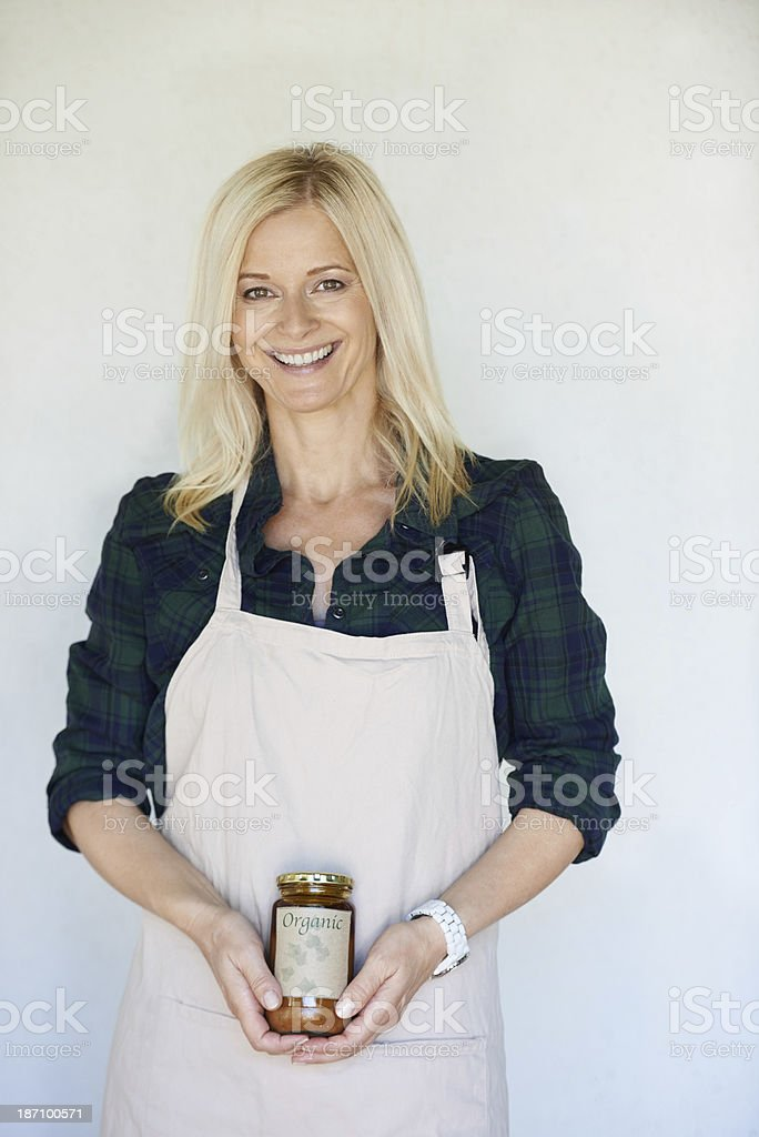 Homemade with love royalty-free stock photo