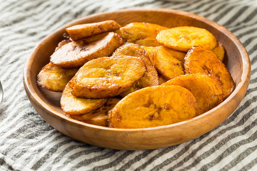 Homemade Yellow Fried Plantains Stock Photo Download Image Now Istock
