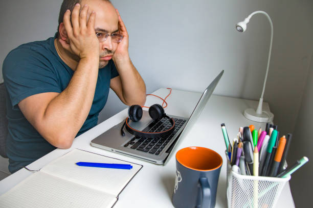 Home-Office stock photo