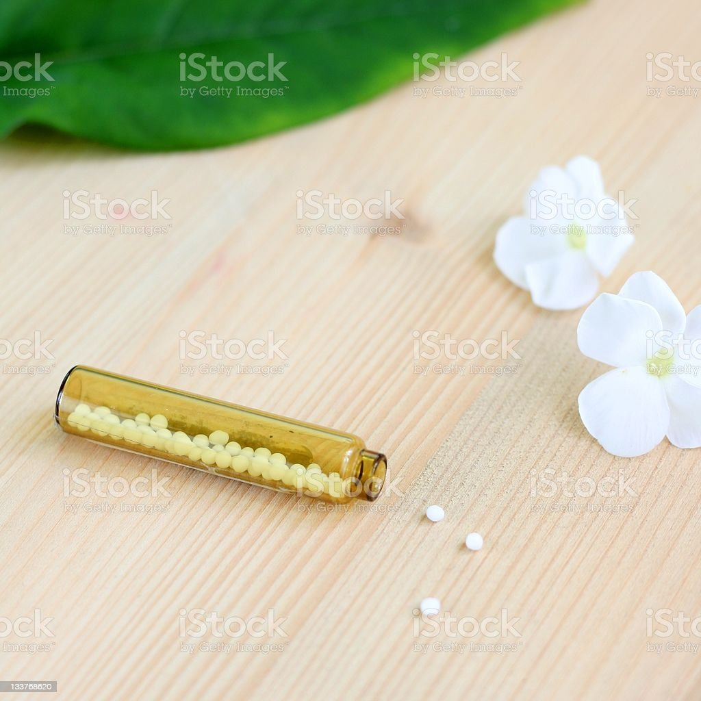 homeopathic globules royalty-free stock photo