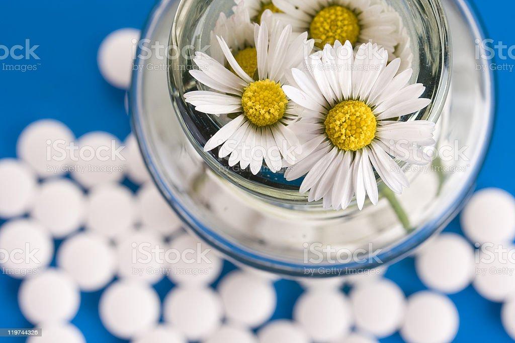 Homeopathic medication royalty-free stock photo