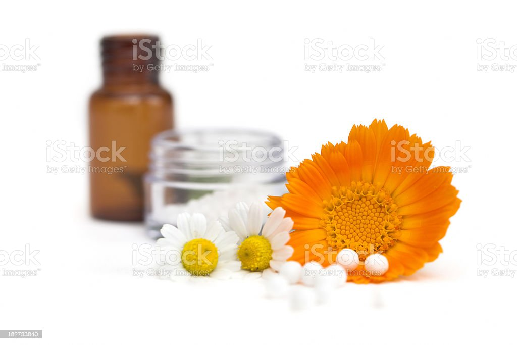 Homeopathic Medicine royalty-free stock photo