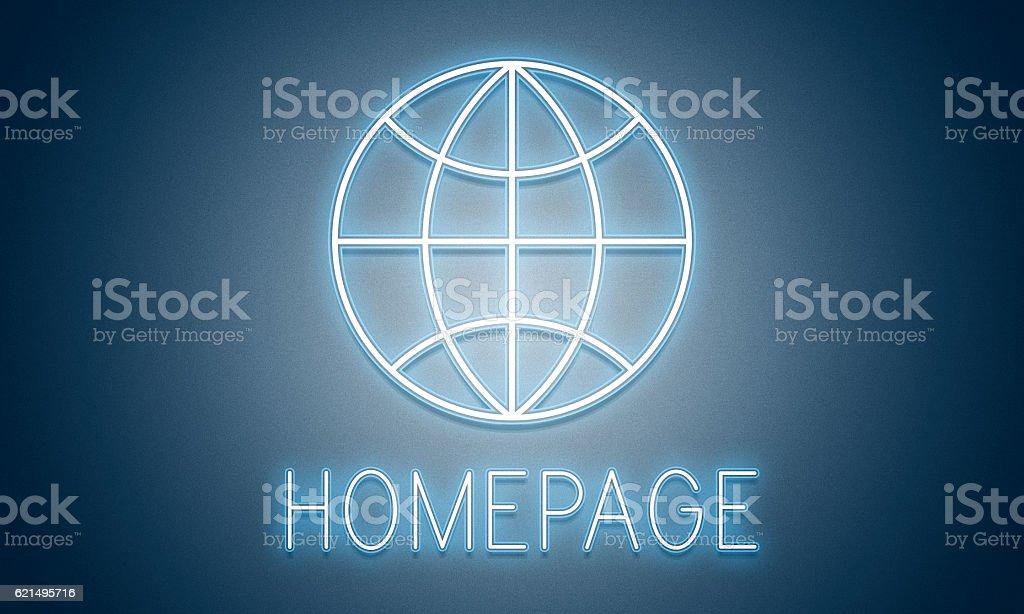 HTTP Homepage Internet Online Concept photo libre de droits