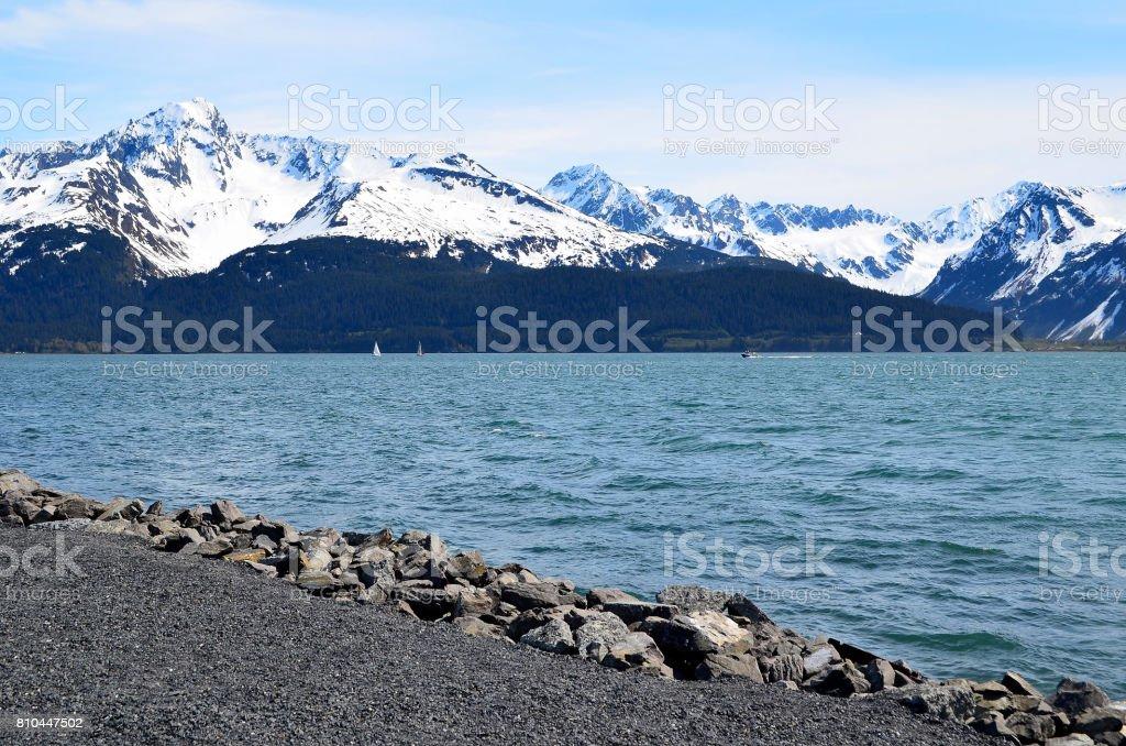 Homer Alaska stock photo
